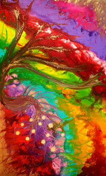 Colorful Abstract  by Julia Fine Art