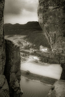 Elbsandsteingebirge by Marcus A. Hubert