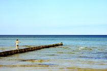 Das kleine Mädchen und das Meer  von Bastian  Kienitz