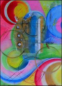 Abstrakt von Eva Borowski