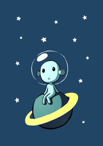 Space Alien by freeminds