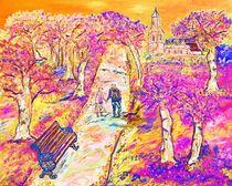 A stroll in autumn von loredana messina