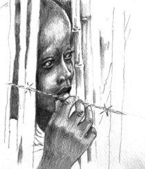 """""""Protect Our Children"""" Series - War Refugee von Priscilla Tang"""