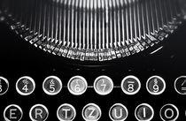 Alte Schreibmaschine  von Olaf von Lieres