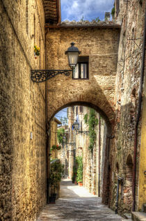 Tuscan Alley by David Tinsley