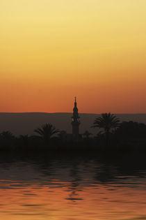 Nile Sunset by David Tinsley