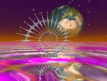 'Aufgehende Erde, Rising Earth' by Frank Siegling