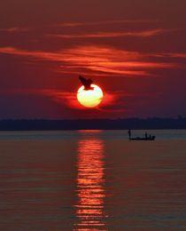 Sunset Fishing by Billy Bartholomew