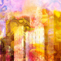 Abstract City by Lutz Baar