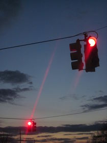Dancing Traffic Lights by Guy  Ricketts