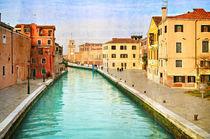 Beautiful water street - Venice, Italy von Serhii Zhukovskyi