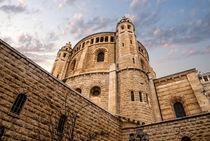 Church of the Dormition, Jerusalem, Israel by Serhii Zhukovskyi
