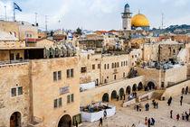 The Western Wall,Temple Mount, Jerusalem, Israel by Serhii Zhukovskyi