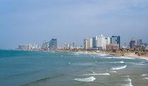 Tel-Aviv beach panorama. Jaffa. Israel. by Serhii Zhukovskyi