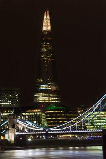 The Shard and Tower Bridge by David Pyatt
