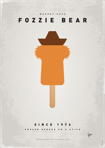 My MUPPET ICE POP - Fozzie Bear by chungkong