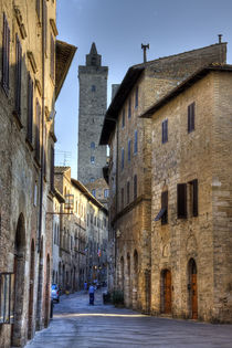 San Gimignano by David Tinsley