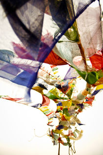 Prayer flags by Stanley Leung