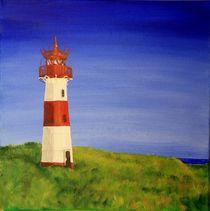 Leuchtturm List Ost, Sylt by Petra Koob