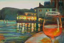 Abends am Gardasee von Renée König
