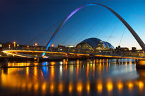 Millenium Bridge Gateshead von Martin Williams