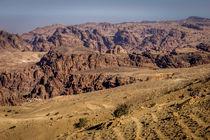 Felsen bei Petra, Jordanien by gfischer