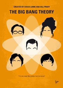 No196 My The Big Bang Theory minimal poster von chungkong
