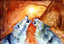 Wölfe von Irina Usova