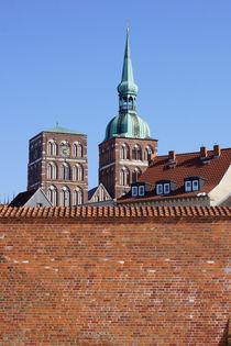 Stadtmauer Stralsund  von Bastian  Kienitz