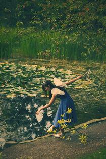 Fairy of the lake von Malgorzata Topolska