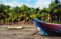 Fishing Boat Nicaragua by Melissa Salter