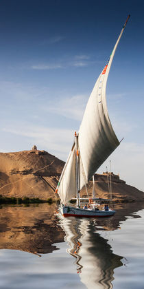 Sailing the Nile by David Tinsley