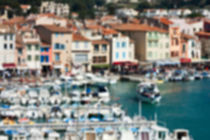 Cassis harbour by Michael Schickert