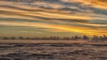 stormy sunset 2 von Mike Kaplan