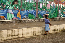 Ataco Mural El Salvador von John Mitchell