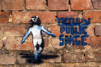 Stencil Berlin Occupy von topas images