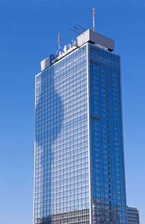 Berlin Fernsehturm und Hotel Park Inn von topas images