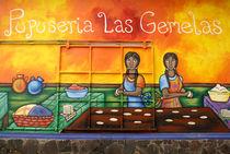 ATACO PUPUSA MURAL El Salvador by John Mitchell