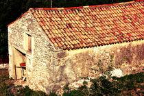 Old stone house. by Gordan Bakovic