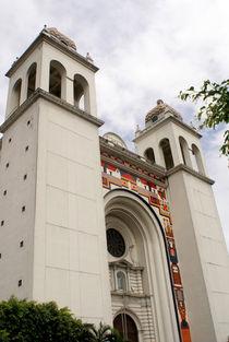 SAN SALVADOR CATHEDRAL El Salvador von John Mitchell