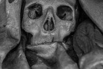 Medioval Skull von Gantcho Beltchev