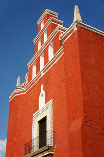 MERIDA CHURCH Mexico von John Mitchell