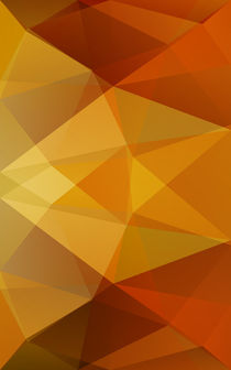 Abstract polygon background. by lukalex