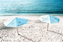 The Beach Umbrellas - 2 by Larisa Kroshkin