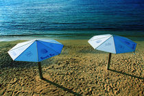The Beach Umbrellas von Larisa Kroshkin