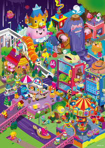 Color City von bubblefriends *