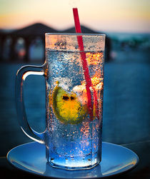 Something Cold at the end of a Hot Day by Larisa Kroshkin