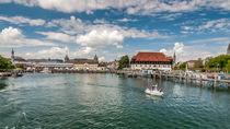 Konstanzer Schiffshafen by Erhard Hess