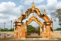 Moorish Double Arch Gate von John Mitchell