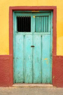 Santa Elena Door Mexico von John Mitchell
